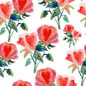 Heart shaped rose. — Stock Photo
