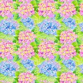 Watercolor Seamless Lilac Pattern — Stock Photo
