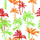 Pattern of palm trees — Photo