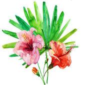 Stylized Summer flowers — ストック写真