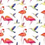 Watercolors birds — Stock Photo #48325609