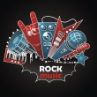 Rock Music Logo — Stock Photo #27020131