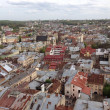 Lviv City Roofs — Stock Photo