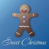 Süße Christmas Cookie — Stockfoto
