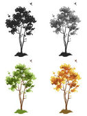 Trees — Vetorial Stock