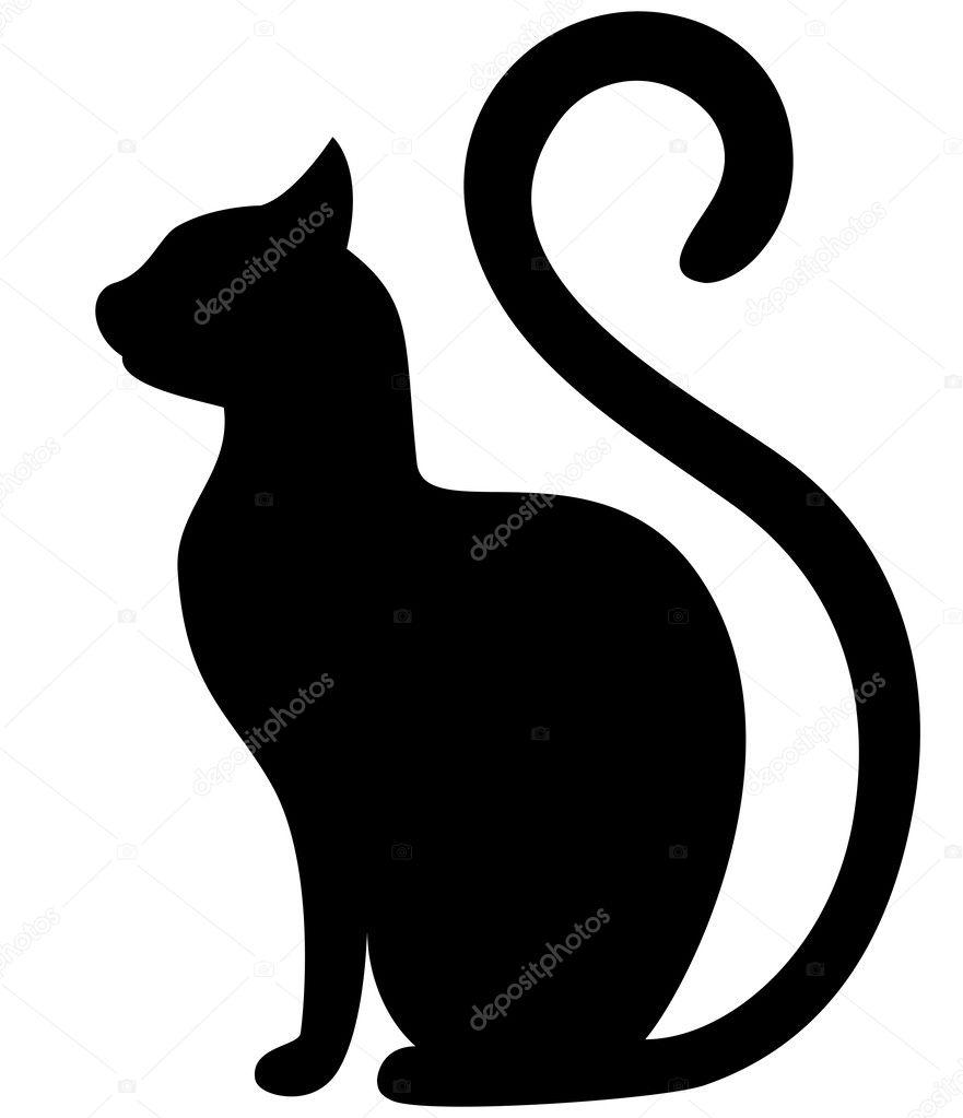 Скачать картинки черный кот