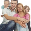 Positive family emotions — Stock Photo