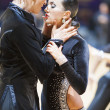 Couple performs ADULT Latin-Americprogram on World Open Minsk-2013 championship — Stock Photo #26769759