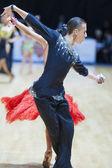 Jugend-2 lateinamerikanisch programm auf offene minsk-2013 weltmeisterschaft — Stockfoto