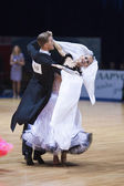 Adult standard program on World Open Minsk 2012 WDSF championship — Stock Photo