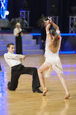 WDSF PD South American Dance Show on BELARUS OPEN 2012 Championship — Stock Photo