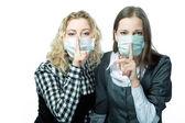 Keep silence — Stock Photo