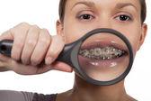Big teeth — Stock Photo