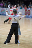 Juvenile-1 Standard program on World Open Minsk 2013 Championship — Zdjęcie stockowe
