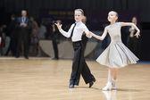 Nieletnich-1 latyno amerykański program na otwarte mistrzostwa świata w mińsku-2013 — Zdjęcie stockowe