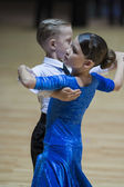 Minsk 2013 campeonato abierto juvenil-1 programa estándar en el mundo — Foto de Stock