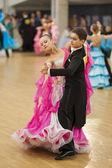 Youth-2 standard program on BELAYA RUS' championship — Foto de Stock