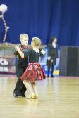 ADULT Latin-American program on The Championship of the Republic of Belarus — Stock Photo