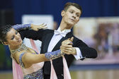 STYLE CUP Minsk 2012 WDSF championship — Stock Photo