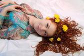 髪の花 — ストック写真