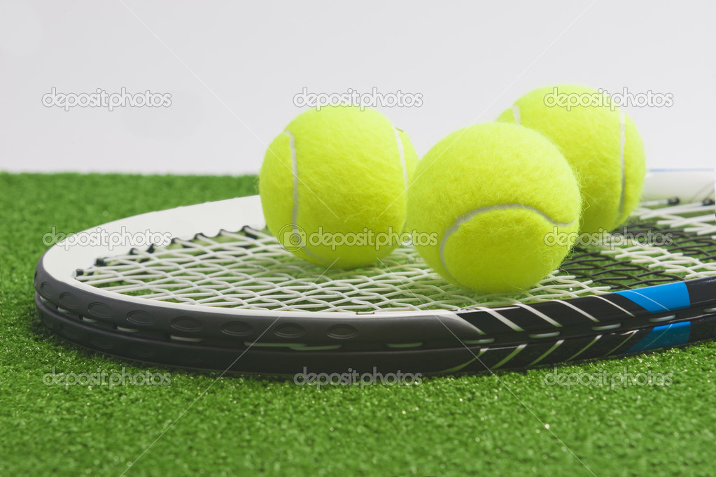 Tennis Racket With Balls