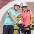 Happy Femal Cyclists — Stock Photo #31828259