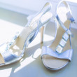 Female Wedding Shoes — Stock Photo