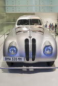 MUNICH -GERMANY, JUNE 17: BMW 328 MM race Shown in BMW Museum in — Stock Photo