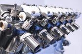 Car Engine Closeup Inside View — Stock Photo