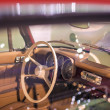 Cabin View of Old Fashioned Car — Stock Photo #38033875
