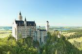 Bavarian Neuschwanstein Castle — Stock Photo