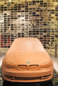 Munich, Germany- june 17, 2012: BMW 3rd series Clay Model on Sta — Stock Photo