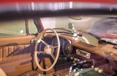 Cabin View of Old Fashioned Car — Stock Photo