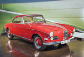 Munich, Germany- june 17, 2012: BMW 503-series Roadster on Stand — Stock Photo