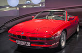 Munich, Germany- june 17, 2012: BMW 850 -series car on Stand in — Stock Photo
