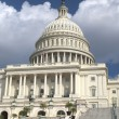 Outside View of US Capitol in Washington DC — Stock Photo
