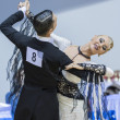 MINSK-BELARUS, FEBRUARY, 9: Unidentified Dance couple performs A — Stock Photo #41711791