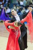 Minsk-Belarus, March, 16: Seleznev Andrey, Inna Selezneva per — Foto de Stock