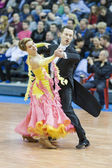 Minsk-Belarus, March, 16: Sergey Domorad, Svetlana Domorad pe — Stock Photo
