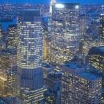 Big Apple Straight After Sunset - New York City at Night — Stockfoto