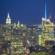Big Apple Straight After Sunset - New York City at Night — Stockfoto