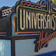 Постер, плакат: Hollywood USA October 3: Universal Studios Sign seen at Unive
