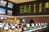 Las Vegas -Nevada, USA, September, 30: Sport Betting at the luxu — Stock Photo