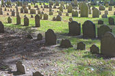 Boston, USA - October, 3: Granary Burying Ground in Boston, MA,  — Stock Photo