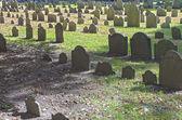 Boston, USA - October, 3: Granary Burying Ground in Boston, MA,  — Stock Photo