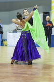 Minsk-Belarus, February, 22: Unidentified Dance Couple Performs  — Photo