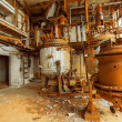 Storage tank in rusty colors — Stock Photo