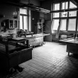 An autopsy room interior low light — Stock Photo