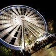 Ferris wheel in the night, Budapest — Stock Photo