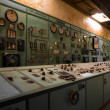 Electric controller room in an old metallurgical firm — Stockfoto
